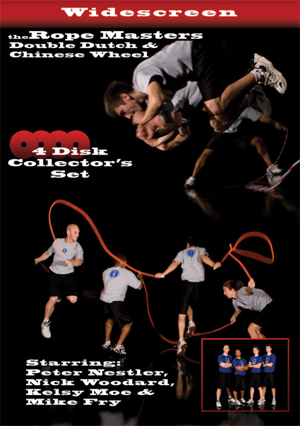 Double Dutch & Chinese Wheel Instructional DVD